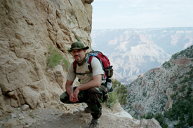 Dr.Scott in the Grand Canyon
